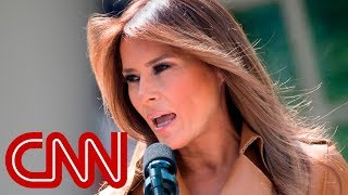Download Melania Trump weighs in on border separations Video