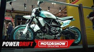 Download Ducati Scrambler Supermoto concept : Just another desert sled? : EICMA 2019 : PowerDirft Video