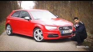 Download Nuova Audi S3 turbo 300 CV quattro - Prova su strada - Test Drive Video