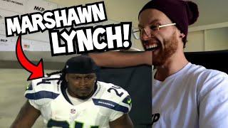 Download Rugby Player Reacts to MARSHAWN LYNCH ″BEASTMODE″ NFL YouTube Video Video
