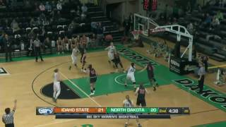 Download UND basketball - WBB highlights vs Idaho State - 2/16/17 Video