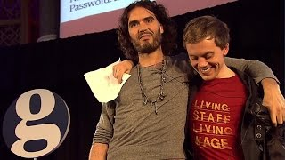 Download Russell Brand's Revolution: Interview with Owen Jones - Full Length   Guardian Live Video