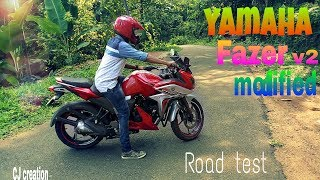 Download Yamaha new fazer fi v 2.0 MODIFIED road test and walkaround review Video