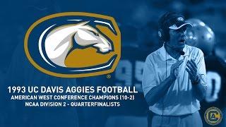 Download UC Davis Aggies Football - 1993 Highlight Film Video