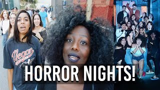 Download HORROR NIGHTS (W/ FBE FAM) // VLOG #12 Video