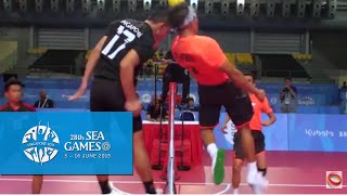 Download Sepaktakraw Men's Regu Philippines vs Singapore (Day 8) | 28th SEA Games Singapore 2015 Video