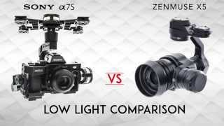 Download Sony A7s Vs Inspire 1 Pro X5 Low light Video
