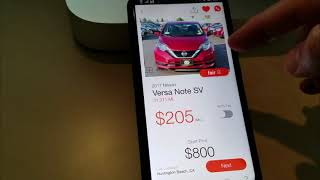 Download The Fair app, watch me order the car 🚗 #DONE! Video
