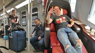 Download Viajando en tren ECONÓMICO vs PRIMERA CLASE Video