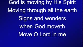 Download 014 - God is moving by His Spirit - A&V Video