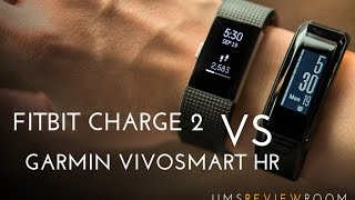 Download Fitbit Charge 2 vs Garmin VivoSmart HR - COMPARISON Video
