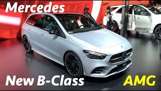 Download New Mercedes B-Class 2019 first look in 4K - AMG package Video