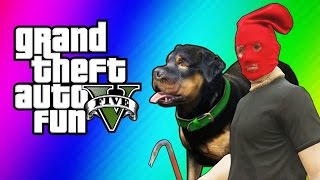 Download GTA 5 Online Funny Moments - Taser Dance, Chop Hump, Cargo Planes! (GTA 5 Fun Jobs) Video