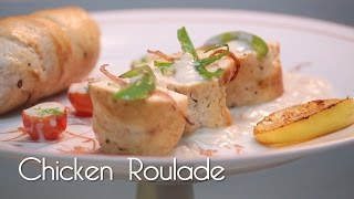 Download Chicken Roulade In Soubise Sauce - MySpoon Video