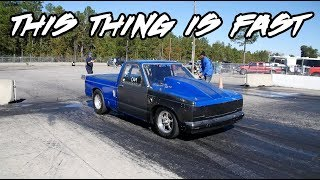 Download THIS IS TRULY A BAD SMALL BLOCK, SMALL TIRE NITROUS S10! PURE GRUDGE MONSTER! Video