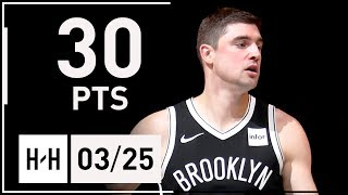 Download Joe Harris Full Highlights Nets vs Cavaliers (2018.03.25) - 30 Points, 7 Reb off the Bench Video