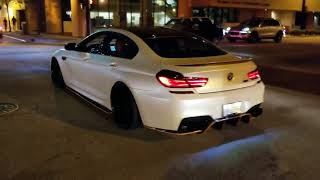 Download BMW M6 Gran Coupe LOUD rev / take off!! The hunt is on! Video