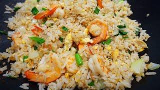 Download ข้าวผัดกุ้ง อร่อยระดับภัตตาคาร ทานกุ้งมีประโยชน์ สอนทำอาหาร|cook with Gui Video