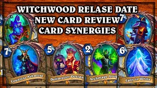 Download Witchwood Expansion Card Review & Release Date! ~ Dollmaster Dorian Countess Ashmore Video