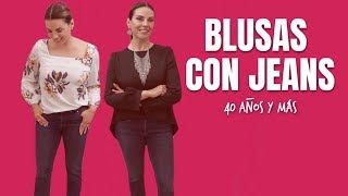Download Blusas de Vestir con Jeans | Moda 40 años y más Video