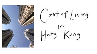 Download Expenses and Cost of Living in Hong Kong Video