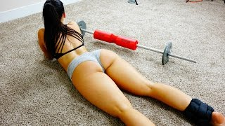 Download Squat Workout for Big Butt! Squat Sponge Challenge! Video