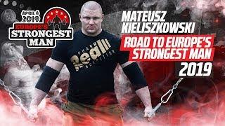 Download Mateusz Kieliszkowski Road To EUROPE'S STRONGEST MAN 2019 [ENG SUB] Video