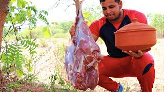 Download GOAT LEGS IN MUD POT || AWESOME CURRY RECIPES || GOAT MEAT RECIPES Video
