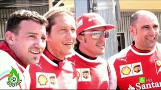 Download Jugones - Maradona, invitado de lujo de Ferrari Video