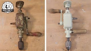 Download 1940's Two Speed Enclosed Breast Drill Restoration Video