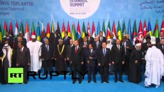 Download Turkey: Erdogan greets Islamic world leaders at OIC summit Video