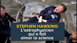 Download Stephen Hawking, l'astrophysicien qui a fait aimer la science | Futura Video