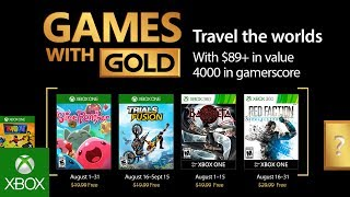Download Xbox - August 2017 Games with Gold Video