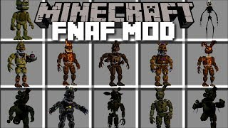 Download Minecraft FIVE NIGHTS AT FREDDY'S MOD / KILL SCARY MONSTERS AND SURVIVE!! Minecraft Video