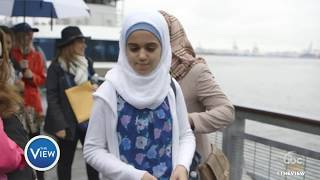 Download Whoopi Goldberg Gives Syrian Refugee Family A Tour of NY | The View Video