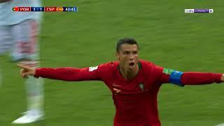 Download برتغال رونالدو تتعادل مع إسبانيا - Ronaldo VS Spain Video