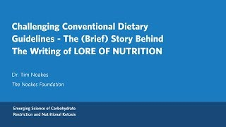 Download Dr. Tim Noakes - Challenging Conventional Dietary Guidelines Video