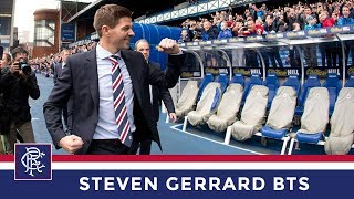 Download Behind The Scenes   Steven Gerrard   Rangers Manager Video