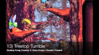 Download Top 20 Video Game Music: Donkey Kong Country series (SNES) Video