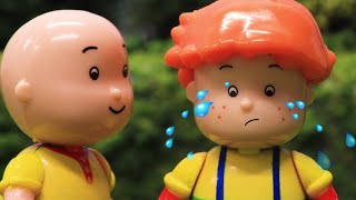 Download Funny Animated cartoons Kids   Leo's Birthay   WATCH ONLINE   Caillou Stop Motion Video