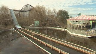 Download A Look At Six Flags New Orleans After Hurricane Katrina Forced It To Close Video