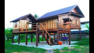 Download รีวิว ประสบการณ์สร้างบ้านไม้หลังน้อย ๆ เฮือนโคราช งบ 700,000 บาท Video