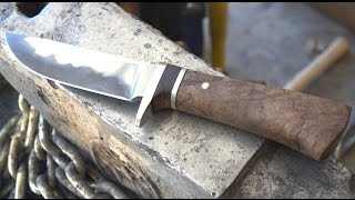 Download Making a Stainless San Mai Knife Video