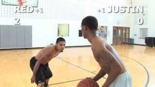 Download V1F - 1 on 1 Basketball, Game 037 (Red vs Justin) Video