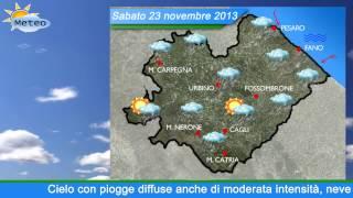 Download Fano, previsioni meteo del 22-23-24 novembre 2013 Video