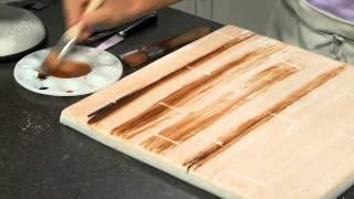 Download Make fondant look like real wood Video