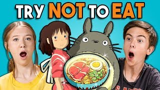 Download Try Not To Eat Challenge - Anime Food | Teens & College Kids Vs. Food Video