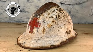 Download 1930s Rusted Helmet Restoration Video
