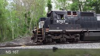 Download Norfolk Southern Train Catches Fire Video