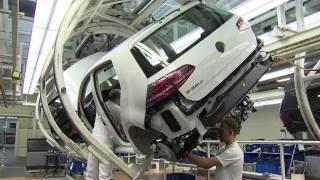 Download Volkswagen e-Golf Production Wolfsburg plant Video